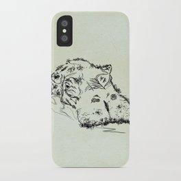 Hippo iPhone Case