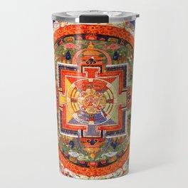 Mandala Buddhist 1 Travel Mug