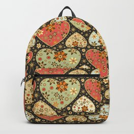 Floral hearts Backpack