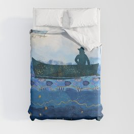 The Fisherman's Dream #2 Duvet Cover