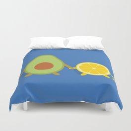 Avocado & Lemon Duvet Cover