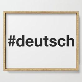 DEUTSCH Serving Tray