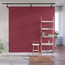 Jester Red Pantone fashion color trend Spring/Summer 2019 Wall Mural