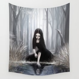 Ice mirror Wall Tapestry