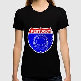 Kentucky Interstate Sign T-shirt
