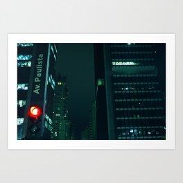 Avenida Paulista // São Paulo Art Print