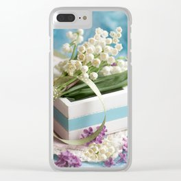 Finally spring Clear iPhone Case