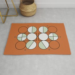 'Joy'metric Circles Rug