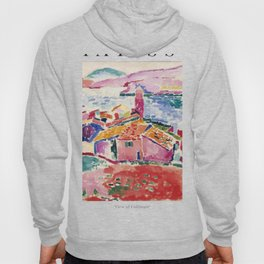 View of Collioure - Henri Matisse - Exhibition Poster Hoody