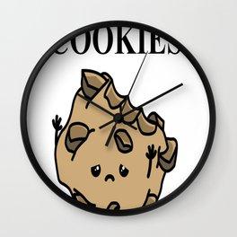 FOOD Cookies Wall Clock