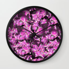 Morphing 3D Wall Clock