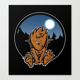 Lil Wolfy Canvas Print