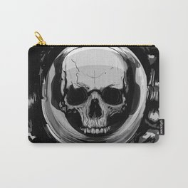 Astronaut space skull Carry-All Pouch