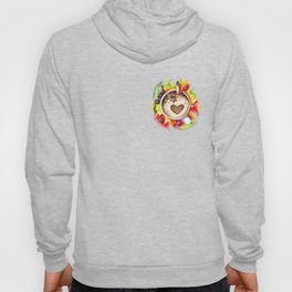 Fall and cup of coffee Hoody