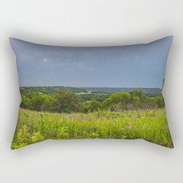 Fort Ransom State Park, North Dakota Rectangular Pillow