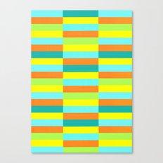 Eccentric Tiles Canvas Print
