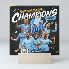 champions city 2019 premier Mini Art Print