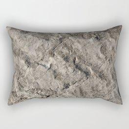 Rock Face Design Rectangular Pillow