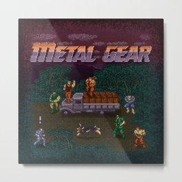 Gear Metal Metal Print