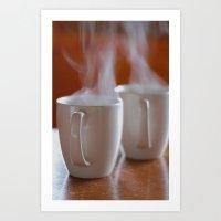 Coffee for 2 Art Print