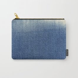 Blue Jean Fabric Carry-All Pouch