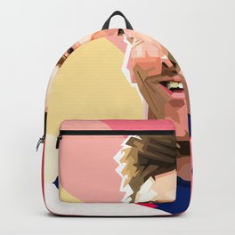 Lionel messi cartoon Backpack