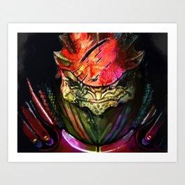 Wrex Art Print