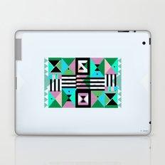 Blue Triangulation Laptop & iPad Skin