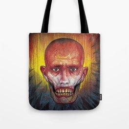 Portrait - Zombie Head John Tote Bag