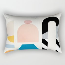 Abstraction_Shapes Rectangular Pillow