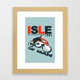 Isle of Man TT Framed Art Print