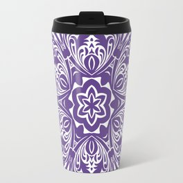 Ultra Violet home decor mandala Travel Mug