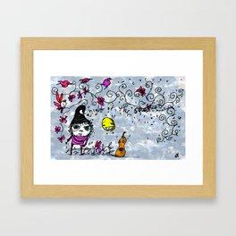 Night of the Squash Framed Art Print