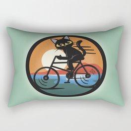 Bike touring Rectangular Pillow