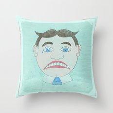 Sad Tillie - Asbury Park, NJ Throw Pillow