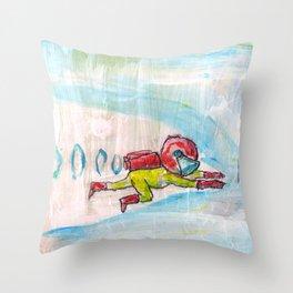Me Time. Throw Pillow