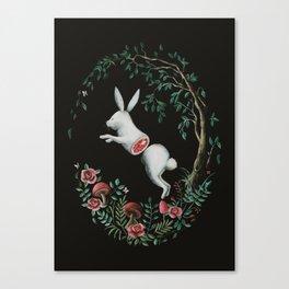 Jump Apart Canvas Print
