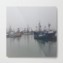 Fogged In Metal Print
