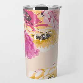 Gerbera Bouquet Travel Mug