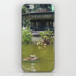 NYC Central park Bethesda fountain iPhone Skin
