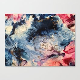 Rage - Alcohol Ink Painting Canvas Print