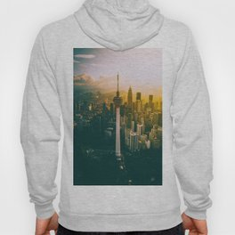 Golden Light Cityscape (Color) Hoody