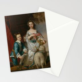 "Sir Joshua Reynolds ""Thomas and Martha Neate with His Tutor, Thomas Needham"" Stationery Cards"