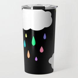 Rainbow Rain Cloud Travel Mug