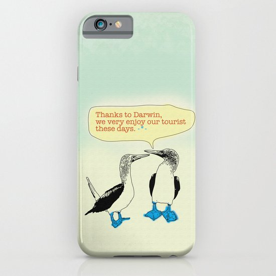 Leave Galapagos alone,pls. iPhone & iPod Case