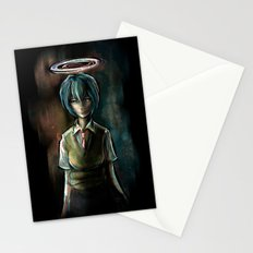 Ayanami Rei Evangelion Character Digital Painting Stationery Cards
