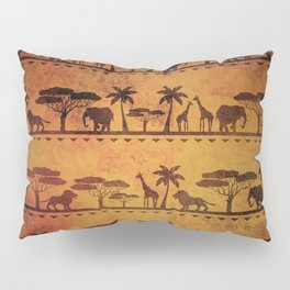 African Animal Pattern Pillow Sham