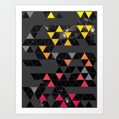 Gradient Space Art Print