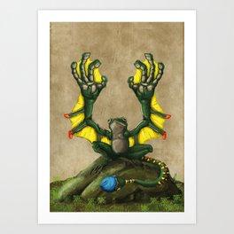 Lliam Y Hygin Art Print