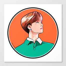 iKON Rainbow - Jinhwan Canvas Print